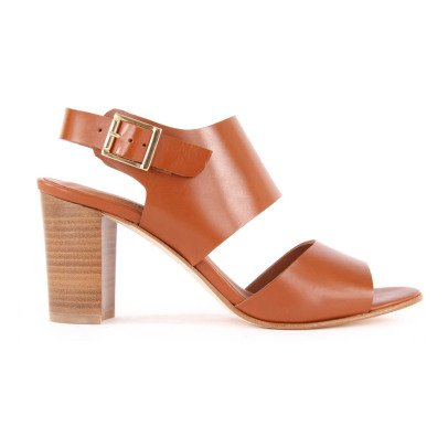 Anthology Alister Leather Heeled Sandals-listing