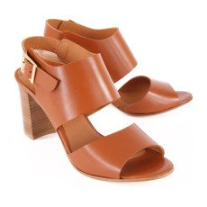Anthology Paris Alister Leather Heeled Sandals-listing