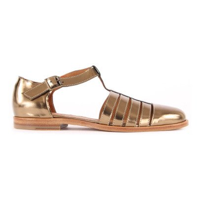 Anthology Paris Kim Leather Sandals-listing