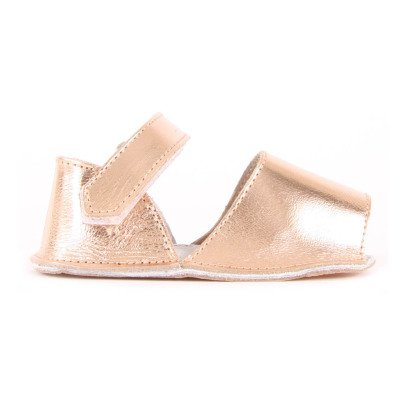 Minorquines Frailera Quilted Leather Velcro Sandals-listing
