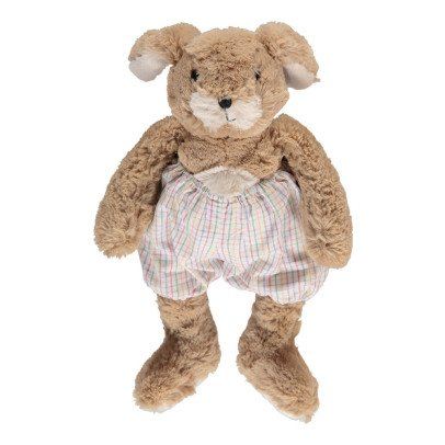 Bonton Bunny Soft Toy with Checked Bloomers-listing