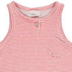 Buho Milan Striped Japonese Cotton Vest Top-listing
