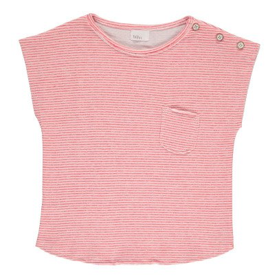 Buho Camile Striped Japanese Cotton T-Shirt-listing