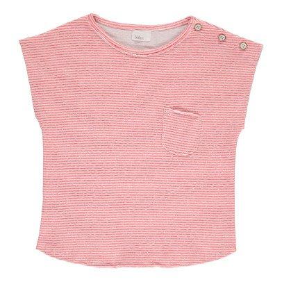 Buho Camiseta Algodón Japonés Rayas Camile-listing