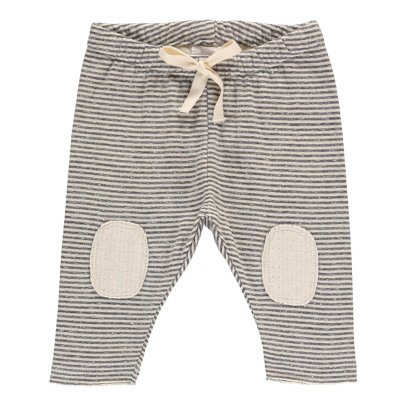 Buho Tim Striped Japonese Cotton Harem Trousers-product