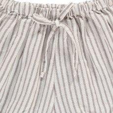 Buho Short Coton et Lin Rayé Kike-listing