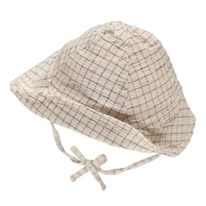 Buho Shell Checked Hat-product