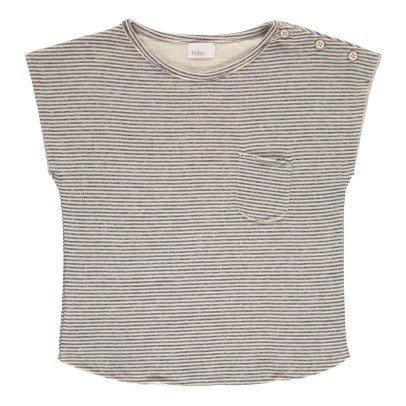Buho T-shirt Coton Japonais Rayé Camile-listing