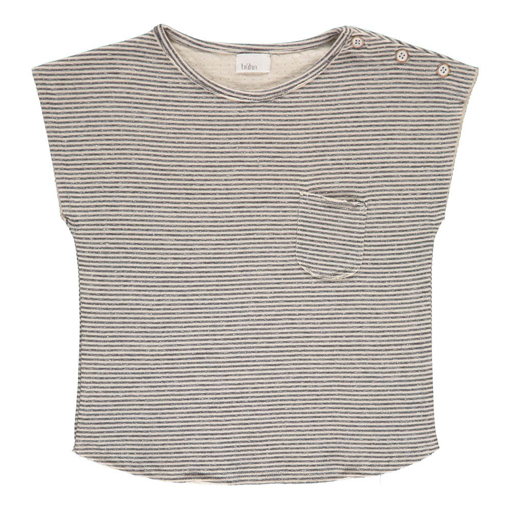 Buho Camile Striped Japanese Cotton T-Shirt-product