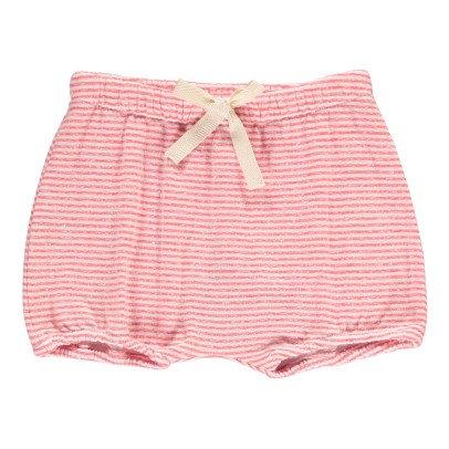 Buho Bloomer Coton Japonais Rayé Poppy-listing