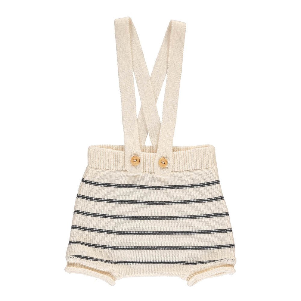 Ricky Striped Knit  Bloomers with Straps -product
