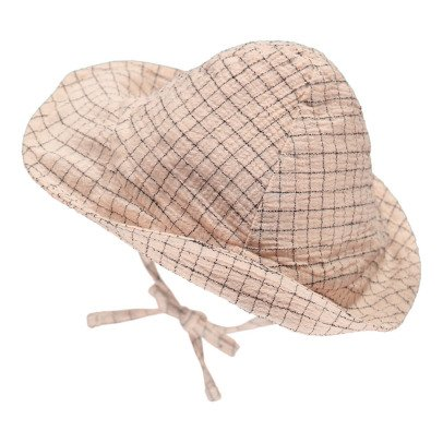 Buho Shell Checked Hat-listing