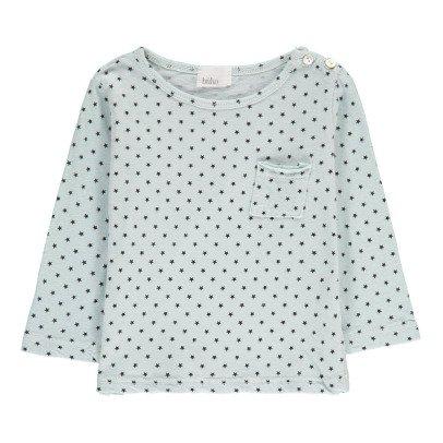 Buho T-shirt Cotone e Lino Stelle-listing