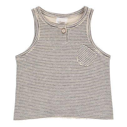 Buho Camiseta Algódón Japonés Rayas Milan-listing