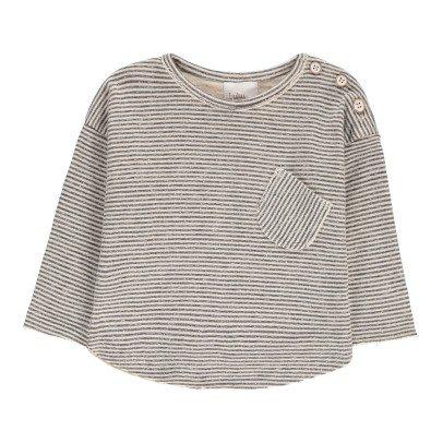 Buho T-shirt Coton Japonais Rayé Milu-listing