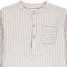 Buho Paul Striped Linen and Cotton Kurta-listing