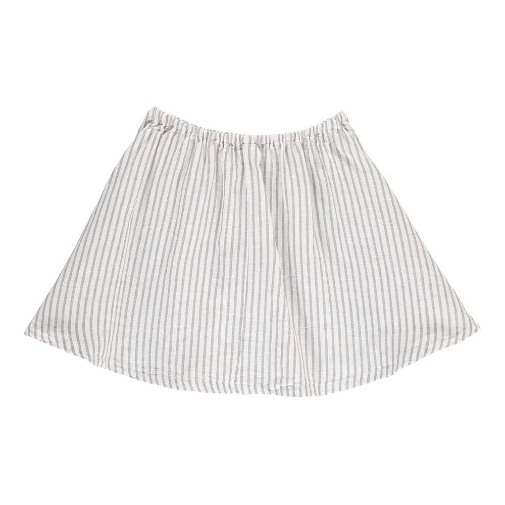 Pipa Striped Linen & Cotton Skirt-product