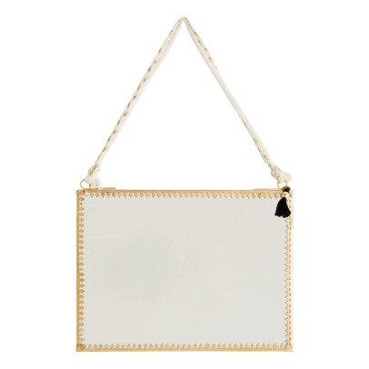 Madam Stoltz Hanging Mirror 20x15cm-product
