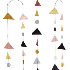 Madam Stoltz Triangle Mirror-listing