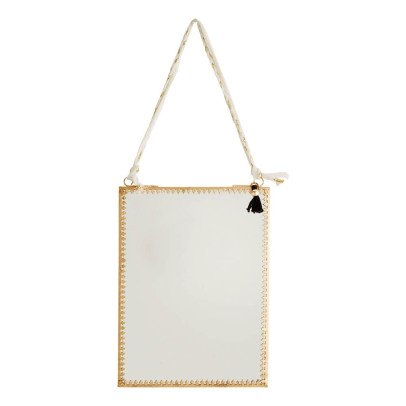 Madam Stoltz Hanging Mirror 15x20cm-listing