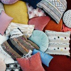 Madam Stoltz Sequin Cushion Cover-listing