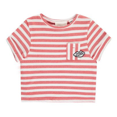 UNE FILLE today I am T-Shirt Righe-listing