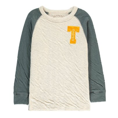 "Bellerose Sweat Double Jersey Bicolore ""Trinidad"" Soni-listing"