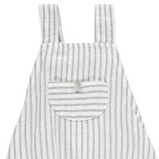 Buho Julio Striped Linen and Cotton Romper-product