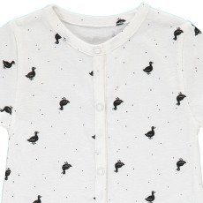 Emile et Ida Mila Polka Dot Duck Playsuit-product