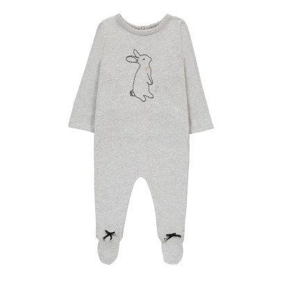 Emile et Ida Arthur Embroidered Rabbit Pyjamas-listing