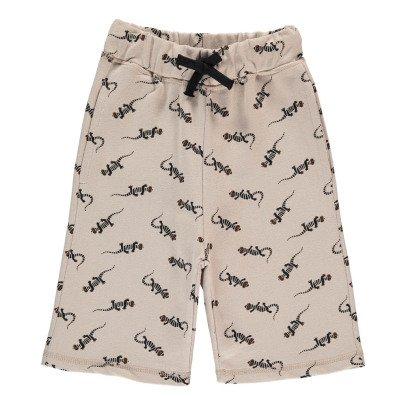 Emile et Ida Lizard Fleece Bermuda Shorts-product