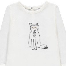 Emile et Ida Arthur Embroidered Fox Pyjamas-listing