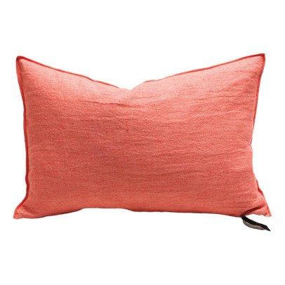 Maison de vacances Cojín viceversa lino lavado arrugado Sandía esmerilado-listing