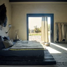 Maison de vacances Edredón Cocoon viceversa lino lavado arrugado rosa/esmerilado-listing