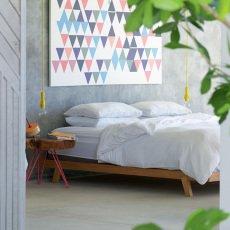 Maison de vacances Funda de almohada lino lavado-listing