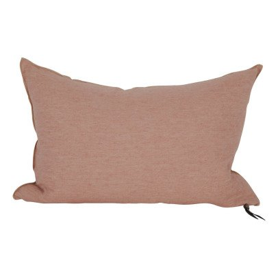 Maison de vacances Cojín viceversa lino lavado arrugado rosa esmerilado-listing
