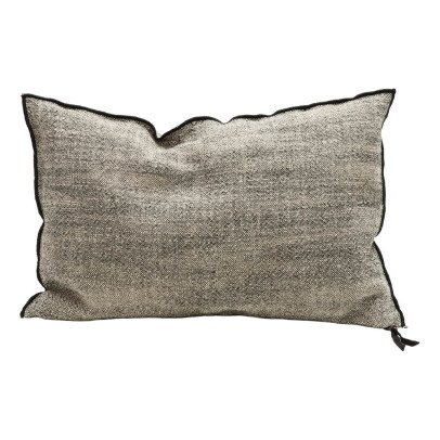 Maison de vacances Flecked Washed Linen Vice Versa Cushion-listing