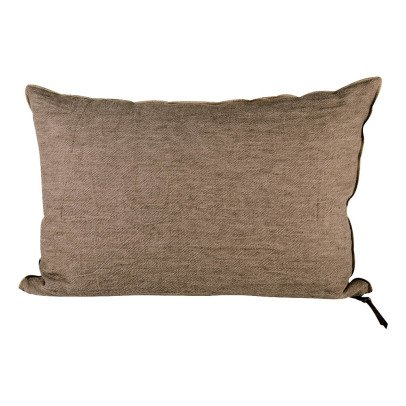 Maison de vacances Cojín viceversa lino lavado arrugado Topo esmerilado-listing