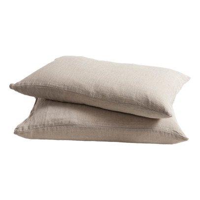 Maison de vacances Washed Linen Pillow Case-listing