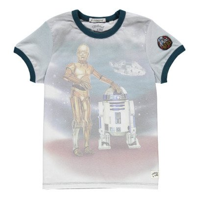 Courage & Kind T-Shirt R2D2 et C3PO-listing