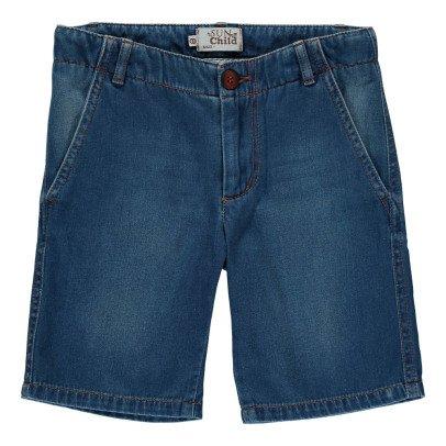 Sunchild Jojo Denim Cargo Bermuda Shorts-listing
