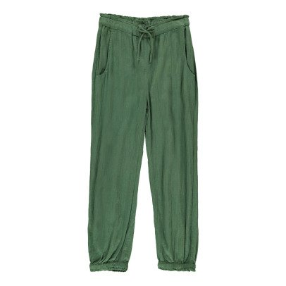 Sunchild Elbe Elasticated Waist and Ankle Harem Trousers-listing