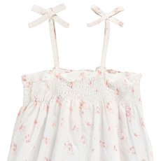 Louis Louise Cherry Flower Romper -listing