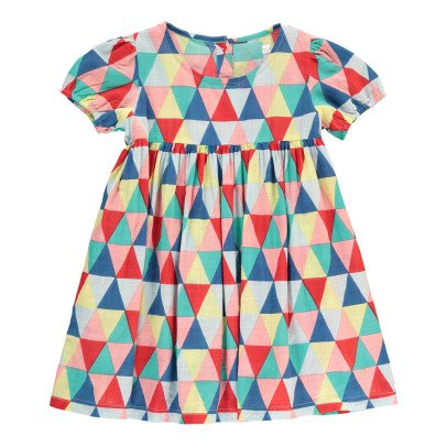 Lulaland Robe Coton Bio Triangles Rebecca-listing