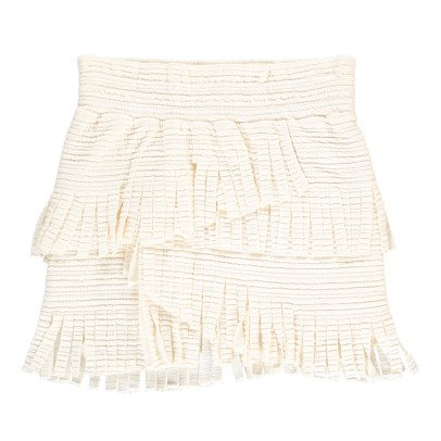 UNE FILLE today I am Fringe Ruffled Skirt-listing