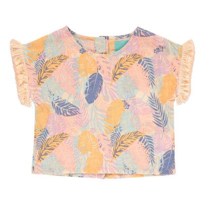 Lulaland Blouse Coton Bio Tropical Eddie-listing