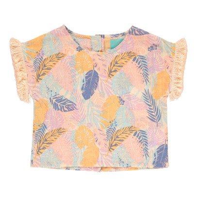 Lulaland Bluse aus Bio-Baumwolle Tropen Eddie -listing