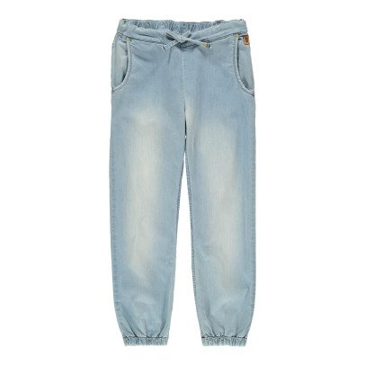 Sunchild Cabrera Elasticated Ankle Denim Trousers-listing
