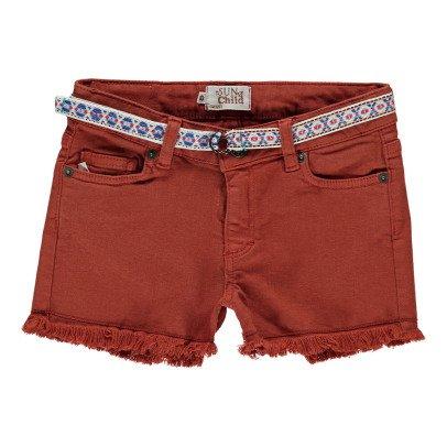 Sunchild Praslin Belt Denim Shorts-listing