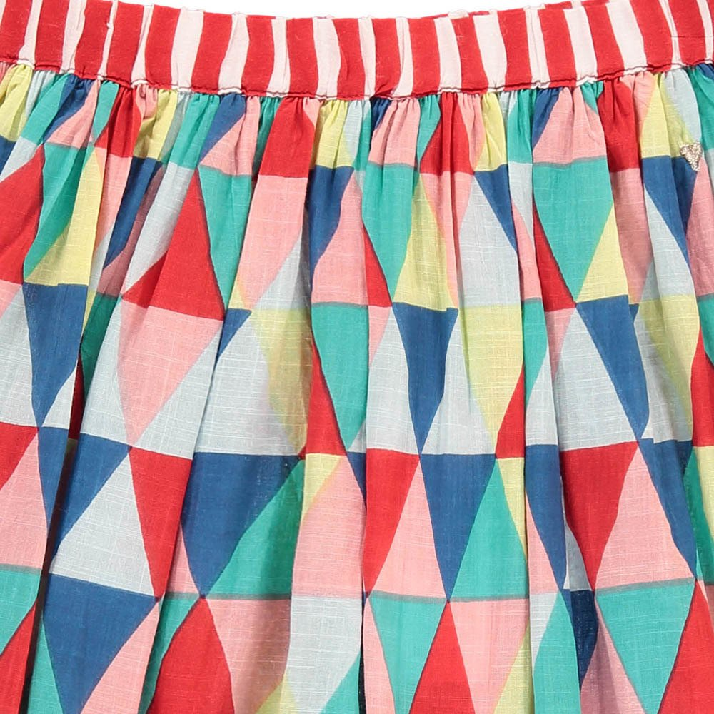Frances Organic Cotton Triangle Skirt-product